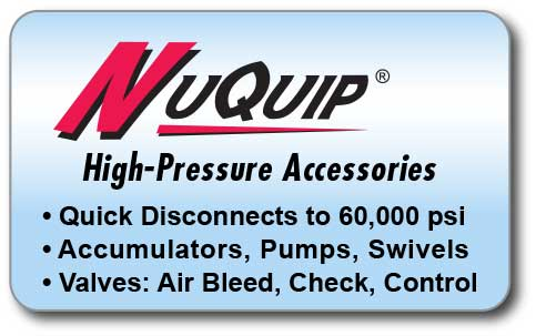 Link to NuQuip High-Pressure Accessories Overview