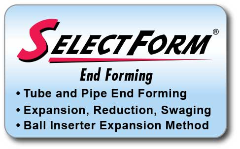 Link to SelectForm End Forming Overview